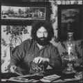 Photographs:Gelatin Silver, Herbert J. Green (American, b. 1942). Jerry Garcia, 1970.Gelatin silver, printed later. 13-3/4 x 13-3/4 inches (34.9 x ...