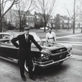 Photographs, Mickey Pallas (American, 1916-1997). Suburban Couple, Buicks and their Owners, Chicago, 1959. Gelatin silver, printed la...