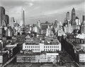 Photographs, Brett Weston (American, 1911-1993). Midtown, New York, 1943. Gelatin silver, printed later. 7-5/8 x 9-1/2 inches (19.4 x...