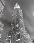Photographs:Gelatin Silver, Tom Baril (American, b. 1952). Chrysler Building, 1997.Toned gelatin silver, 1998. 23-1/4 x 18-3/8 inches (59.1 x 46.7 ...
