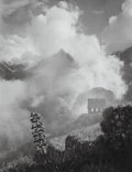 Photographs, Gordon Converse (American, 1921-1999). Fog burns off the old Inca city, Machu Picchu, Peru, 1968. Gelatin silver. 12-7/8...