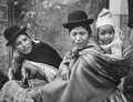 Photographs, Gordon Converse (American, 1921-1999). Indian women at world's highest capitol, La Paz, Bolivia, 1967. Gelatin silver. 9...