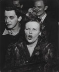 Photographs, Weegee (American, 1899-1968). At a Jazz Club, 1948. Gelatin silver. 13-1/2 x 10-1/2 inches (34.3 x 26.7 cm). The photogr...