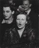 Weegee (American, 1899-1968) At a Jazz Club, 1948 Gelatin silver 13-1/2 x 10-1/2 inches (34.3 x 26.7 cm) The photogr