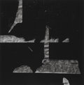 Photographs, Aaron Siskind (American, 1903-1991). New York 18, 1976.Gelatin silver. 15-1/4 x 14-3/4 inches (38.7 x 37.5 cm). Signed,...