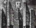 Photographs:Gelatin Silver, Aaron Siskind (American, 1903-1991). Acolman 2, 1955. Gelatin silver, printed later. 10-3/8 x 13-3/8 inches (26.4 x 34.0...
