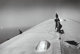 Alfred Eisenstaedt (American, 1898-1995) Repairing the hull of the Graf Zeppelin during the flight over the Atlantic, 1...