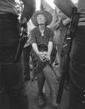 Photographs:Gelatin Silver, Bob Fitch (American, 1939-2016). Dorothy Day on UFW picket line,Lamont, California, August, 1973. Gelatin silver. 19 x ...