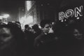 Photographs:Gelatin Silver, Charles Harbutt (American, 1935-2015). The Good Kiss and New Year's Eve (two photographs), 1960. Gelatin silver. 4-3... (Total: 2 Items)