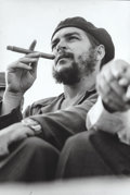 Photographs, Lee Lockwood (American, 1932-2010). Che Guevara, Santiago deCuba Rally, 1964. Gelatin silver. 13-1/2 x 9-1/8 inches (34...