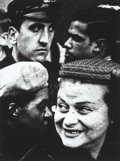 Photographs, William Klein (American, b. 1928). 4 Heads, New York, 1955. Gelatin silver, printed later. 11-5/8 x 8-3/4 inches (29.5 x...