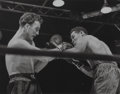Photographs, Morris Gordon (American, 1916-1971). Billy Conn vs Joe Louis, Yankee Standium, 1946. Gelatin silver. 10-1/2 x 13-3/8 inc...