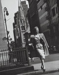 Photographs:Gelatin Silver, Bradford J. Smith (American, 1925-2016). Group of Three Fashion and Illustration Photographs, circa 1948. Gelatin silver... (Total: 3 Items)