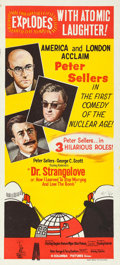 """Movie Posters:Comedy, Dr. Strangelove or: How I Learned to Stop Worrying and Love theBomb (Columbia, 1964). Australian Daybill (13.5"""" X 30"""").. ..."""