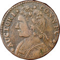 Colonials, 1788 CONNCT Connecticut Copper, Mailed Bust Left, M. 12.1-F.1, W-4520, R.5, XF40. NGC. ...