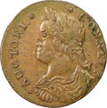 Colonials, 1788 CONNCT Connecticut Copper, Draped Bust Left, M. 16.1-D, W-4595, R.3, AU55 NGC. ...
