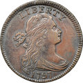 1797 1C Reverse of 1797, Stems, S-138, B-20, R.1 -- Obv Scratched - NGC Details. AU. ...(PCGS# 35945)