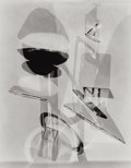 Photographs:Photogram, Michael Spano (American, b. 1949). A Group of Three Photograms, 1990. Gelatin silver. 34-3/4 x 27 inches (88.3 x 68.6 cm... (Total: 3 Items)