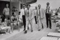 Photographs, Terry O'Neill (British, 1938). Frank Sinatra and Body Guards, Fontainbleau, Miami Beach, 1968. Oversized gelatin silver,...