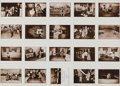 Photographs, Leslie Krims (American, 1943). A Group of Seventeen Uncut Sheets of The Deerslayers, The Incredible Case of the Stack O'Wh... (Total: 17 Items)