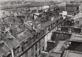 Photographs, Germaine Krull (Polish, 1897-1985). Untitled (Rooftops, Paris), circa 1930. Gelatin silver. 4-3/4 x 6-1/2 inches (12.1 x...