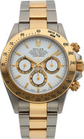 Timepieces:Wristwatch, Rolex Ref. 16523 Two Tone Oyster Perpetual Cosmograph Daytona,circa 1999. ...