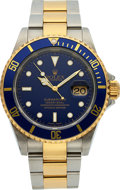 Timepieces:Wristwatch, Rolex Ref. 16613 Two Tone Oyster Perpetual Date Submariner, circa2002. ...