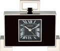Timepieces:Clocks, Cartier Art Deco Style Desk Clock. ...