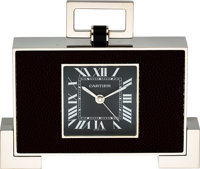 Cartier Art Deco Style Desk Clock