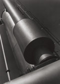 Photographs, Clarence John Laughlin (American, 1905-1985). Light on the Cylinders No. 5, 1937. Gelatin silver. 13-5/8 x 10-1/4 inches...