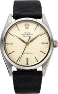 Timepieces:Wristwatch, Rolex Ref. 5500 Steel Oyster Perpetual Air King, circa 1962. ...