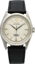 Timepieces:Wristwatch, Rolex Ref. 6285 Steel Oyster Perpetual, circa 1953. ...