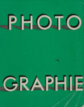 Photographs, Arts et Métiers Graphiques (French, 20th Century). Photographie (four volumes), 1930, 1934, 1938, 1939. Spiral bound... (Total: 4 Items)