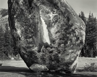 Jerry Uelsmann (American, b. 1934) Untitled (Yosemite, Rock and Waterfall), 1990 Gelatin silver 1