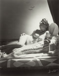 Photographs, Horst P. Horst (American/German, 1906-1999). Odalisque 1, New York, 1943. Gelatin silver, printed later. 12 x 9-1/8 inch...