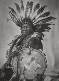 Photographs:Gelatin Silver, Frank Bennett Fiske (American, 1883-1952). Sioux of North DakotaPortfolio (thirty photographs), circa early 1900s. ...(Total: 2 Items)