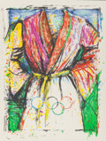 Fine Art - Work on Paper:Print, Jim Dine (b. 1935). Olympic Robe, 1988. Lithograph in colors. 35 x 27 inches (88.9 x 68.6 cm) (sheet). Ed. 23/300. Sign...