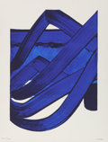 Fine Art - Work on Paper:Print, Pierre Soulages (b. 1919). Composition, 1988. Lithograph incolors. 35 x 27 inches (88.9 x 68.6 cm) (sheet). Ed. 201/300...