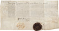 Autographs:Non-American, [Louis XIII]. Document from the Reign of Louis XIII....