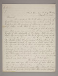 Military & Patriotic, MAJOR GENERAL THOMAS E. G. RANSOM LETTER SIGNED, 1863....
