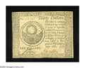 Colonial Notes:Continental Congress Issues, Continental Currency September 26, 1778 $30 Very Choice New. Alovely higher denomination Continental note that is crisp as ...