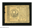 Colonial Notes:Continental Congress Issues, Continental Currency September 26, 1778 $30 Fine. Edge wearincluding an approximate quarter inch bottom edge split are foun...