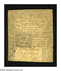 Colonial Notes:Connecticut, Connecticut May 10, 1770 5s Very Fine. The body of this note gradesstrictly Very Fine as the text is clear and legible with...