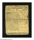 Colonial Notes:Delaware, Delaware Mar. 1, 1758 20s Fine. This rare note was printed byB(enjamin) Franklin and D(avid) Hall. It also possesses serial...