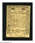 Colonial Notes:Rhode Island, Rhode Island May 1786 30s About New, PC. A small punch cancelled isfound on this single fold note....