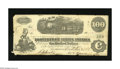 Confederate Notes:1862 Issues, T40 $100 1862. This note is Cr. 298 and grades Fine-Very Fine witha couple margin nicks and a few pinholes....