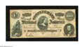 Confederate Notes:1864 Issues, T65 $100 1864. This Lucy Pickens C-note Cr. 494 is quite crisp and still maintains some vivid red overprinting. Very Fine....