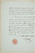 Autographs, Georges Danton Signed Decree. ...