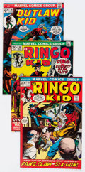 Bronze Age (1970-1979):Western, Ringo Kid and Outlaw Kid Group of 10 (Marvel, 1970s) Condition: Average VF.... (Total: 10 Comic Books)