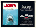 "Movie Posters:Horror, Jaws (Universal, 1975). Half Sheet (22"" X 28"") Roger KastelArtwork.. ..."